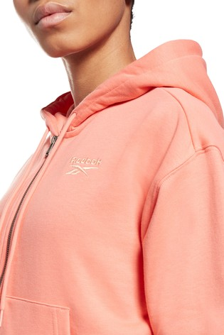 Reebok Zip Through Hoodie