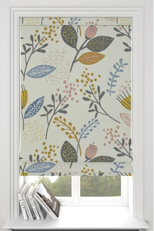 Seedpod Natural Made To Measure Roman Blind
