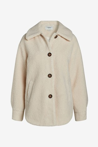 Stone Short Teddy Jacket