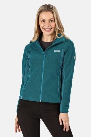 Regatta Blue Womens Highton Winter Full Zip Fleece Jacket