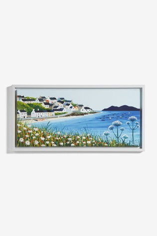 Artist Collection 'Seascape' by Janet Bell Canvas