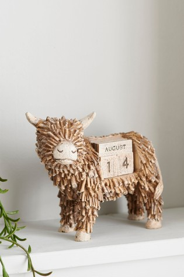 Hamish Highland Cow Perpetual Calendar