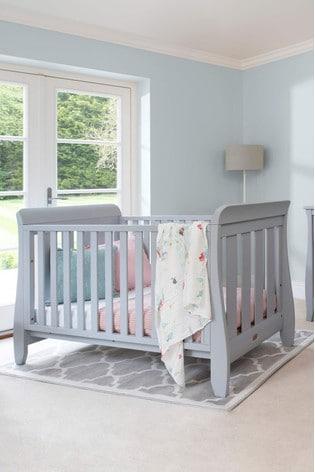 Boori Sleigh Urbane Grey Cot Bed