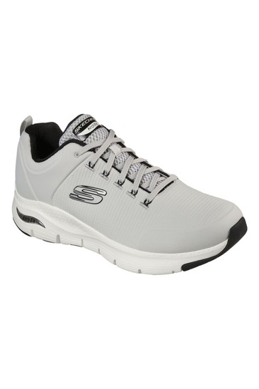 Skechers® Grey Arch Fit Paradyme Trainers