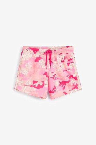 adidas Originals Pink Camo Shorts