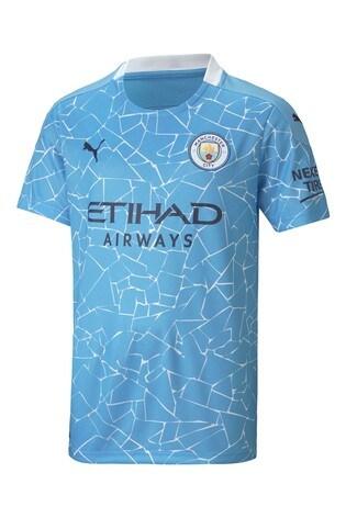 Puma Manchester City Home Junior Jersey