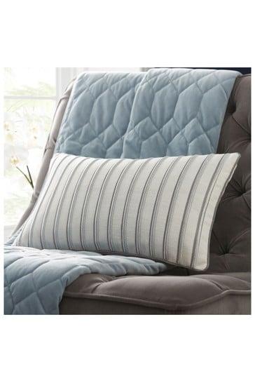 Tess Daly Metallic Stripe Boudoir Cushion