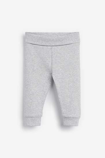 Grey 2 Pack Leggings (0mths-2yrs)
