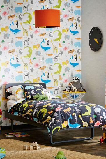 Scion Blue Animal Magic Wallpaper