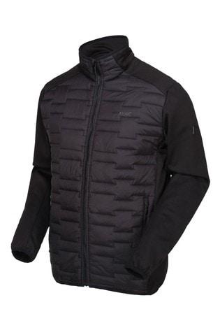 Regatta Black Clumber Hybrid Softshell Jacket