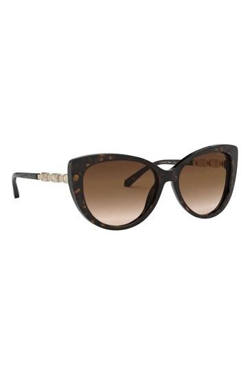 Michael Kors Dark Tort Cat Eye Sunglasses