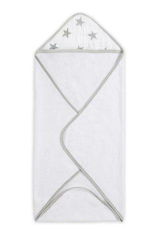 aden + anais Essentials Grey Hooded Towel