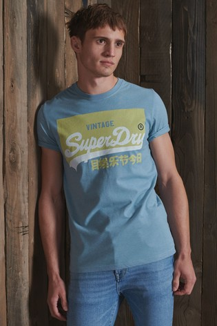 Superdry Organic Cotton Vintage Logo Pastel T-Shirt