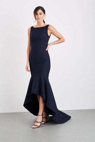 Damsel In A Dress Blue Leela Maxi Dress
