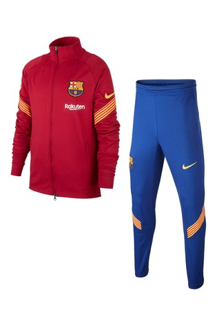Nike Burgundy Barcelona Strike Tracksuit