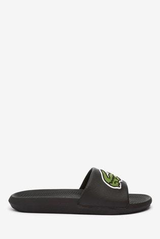 Lacoste® Black Slides