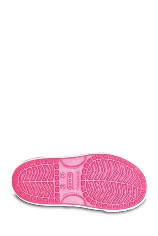 Crocs™ Pink Kids Crocband™ ll Touch Fastening Sandals