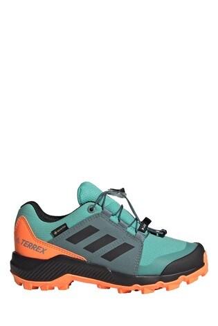 adidas Blue/Orange Hiking SHoes