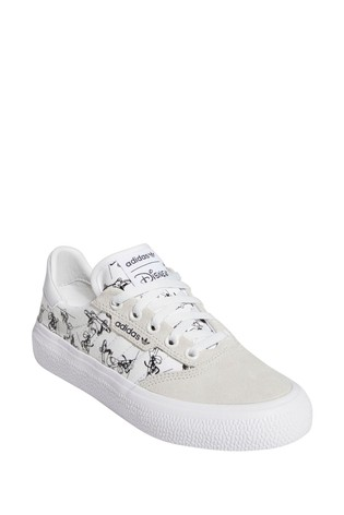 adidas Originals White Disney™ 3MC Youth Trainers
