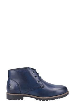 Cotswold Blue Mollington Below Ankle Boots