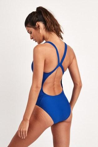 adidas SH3.RO 3 Stripe Swimsuit