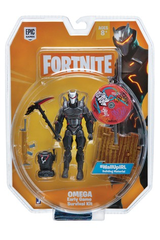 Fortnite Early Game Survival Kit Figure - Omega