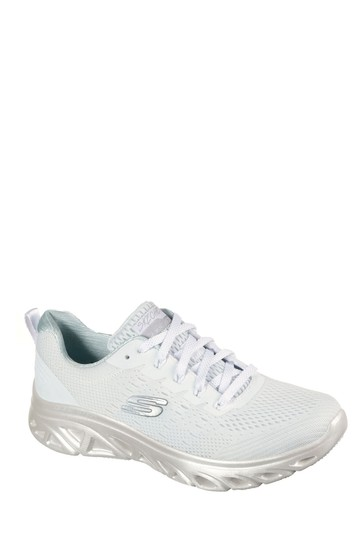 Skechers® White Glide-Step Sport Trainers