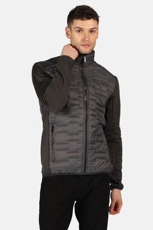 Regatta Grey Clumber Hybrid Softshell Jacket