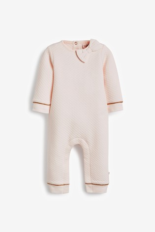 Baker by Ted Baker Baby Girls Quilted Romper