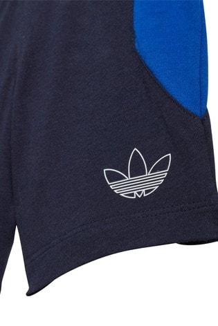 adidas Originals Infant Tricolour T-Shirt And Shorts