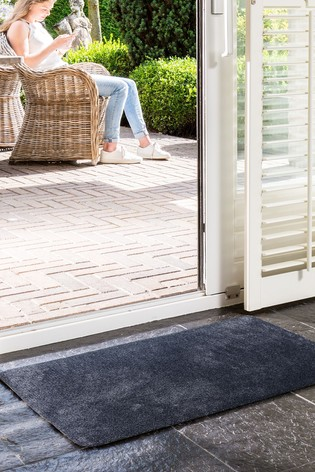 Mud Stopper Worsley Washable Plain Doormat