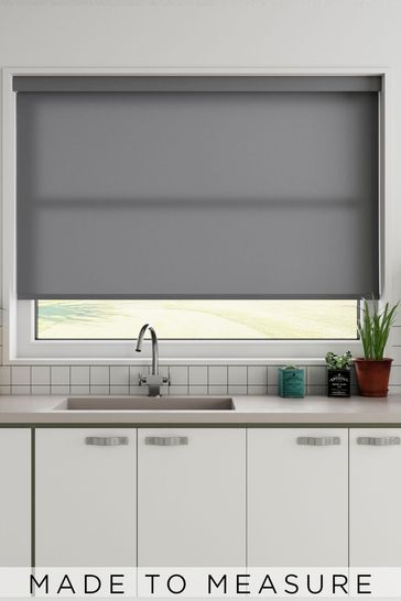 Star Clay Grey Made To Measure Light Filtering Roller Blind