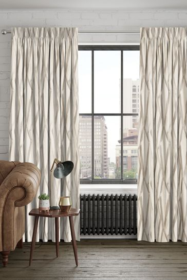 Ayers Pebble Natural Made To Measure Curtains