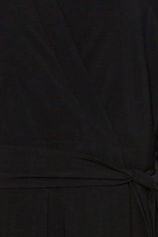 Studio 8 Black Denver Wrap Jumpsuit