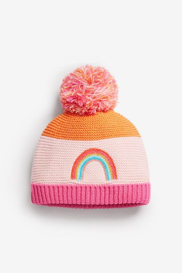 Single Pom Knitted Hat (Younger)
