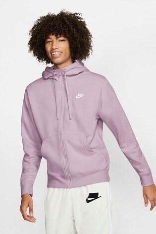 Nike Club Fleece Zip Through Hoodie