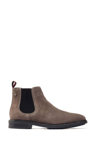 Base London® Black Seymour Chelsea Boots