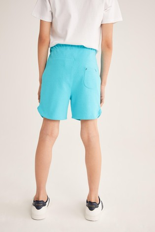 Baker by Ted Baker Turquoise Jersey Shorts
