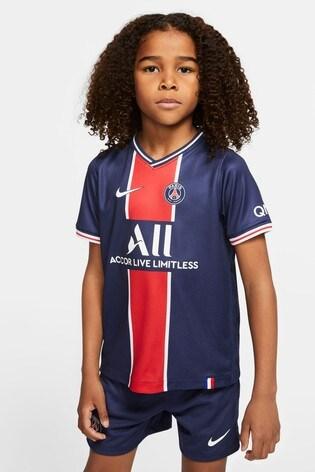 Nike Home PSG 20/21 Kids Kit