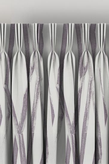 Ayers Plum Purple Made To Measure Curtains
