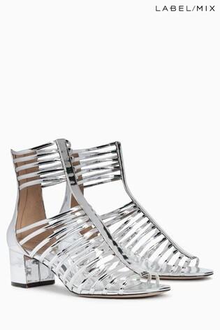 Mix/Osman Heeled Gladiator Sandal
