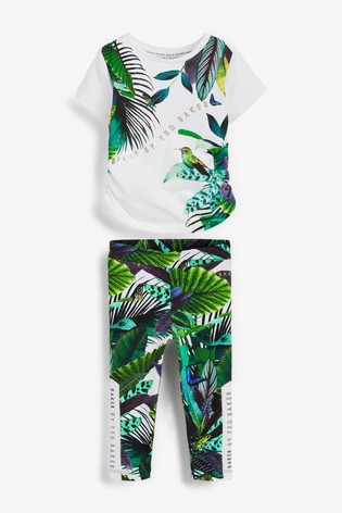 Baker by Ted Baker Ruched Top And Legging Set