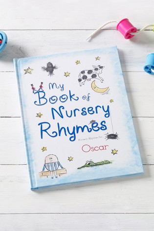 Personalised My Book Of Nursery Rhymes by Signature Book Publishing