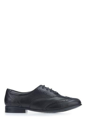 Start-Rite Black Brogue Shoes