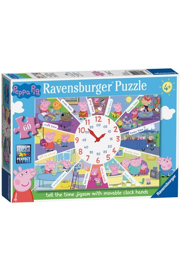 Ravensburger Peppa Pig™ Tell the Time Clock Puzzle