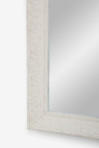Vintage Style Mirror 83 x 68cm
