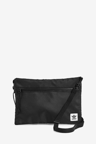 adidas Originals Black Simple Pouch Bag
