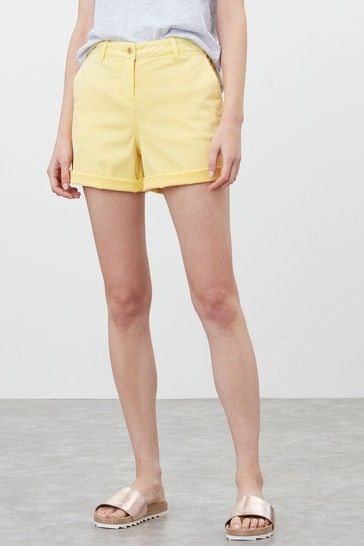 Joules Lemon Cruise Mid Thigh Length Chino Shorts