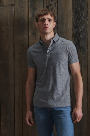 Superdry Organic Cotton Jersey Polo Shirt