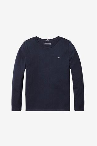 Tommy Hilfiger Girls Basic Long Sleeve T-Shirt
